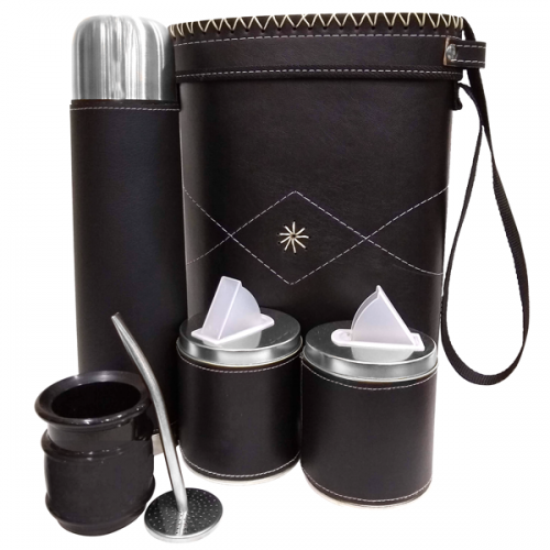 SET DE MATE CON BOLSO RIGIDO